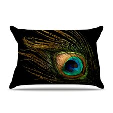 Peacock Microfiber Fleece Pillow Case