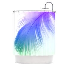 Feather Polyester Shower Curtain