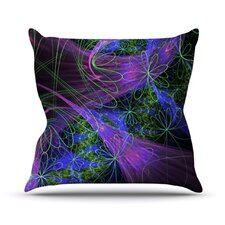 Floral Garden Throw Pillow