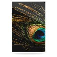 Peacock by Alison Coxon Graphic Art Plaque