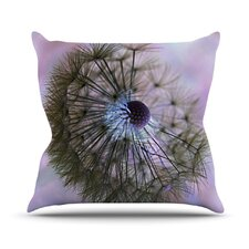 <strong>KESS InHouse</strong> Dandelion Clock Throw Pillow