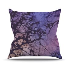 Skies Throw Pillow