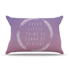 <strong>KESS InHouse</strong> Little Thing Microfiber Fleece Pillow Case