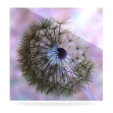 Dandelion Clock Floating Art Panel