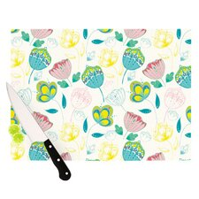 Indie Floral Cutting Board