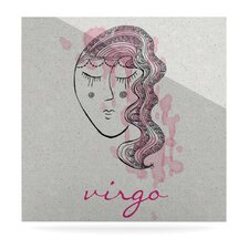 Virgo by Belinda Gillies Graphic Art Plaque