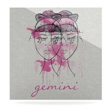 Gemini by Belinda Gillies Graphic Art Plaque
