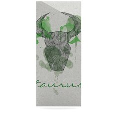 Taurus by Belinda Gillies Graphic Art Plaque