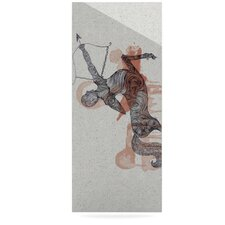 Sagittarius by Belinda Gillies Graphic Art Plaque