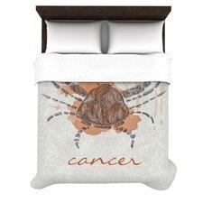 Cancer by Belinda Gillies Woven Duvet Cover
