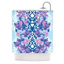 Baroque Polyester Shower Curtain