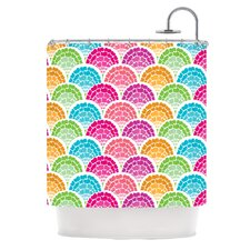 Rina Polyester Shower Curtain