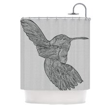 Hummingbird Polyester Shower Curtain