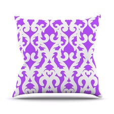Modern Baroque Throw Pillow