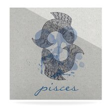 Pisces by Belinda Gillies Graphic Art Plaque