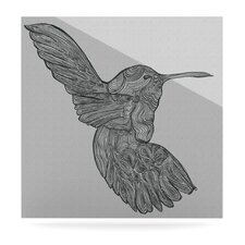 Hummingbird Floating Art Panel