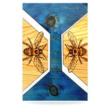 Bees Floating Art Panel