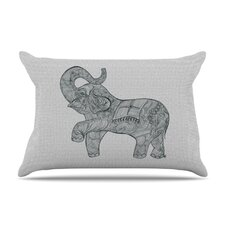 Elephant Microfiber Fleece Pillow Case