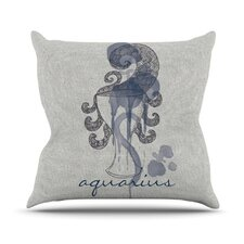 <strong>KESS InHouse</strong> Aquarius Throw Pillow