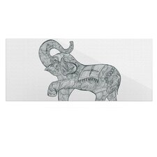 Elephant by Belinda Gillies Graphic Art Plaque