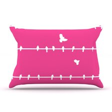 Birds Microfiber Fleece Pillow Case