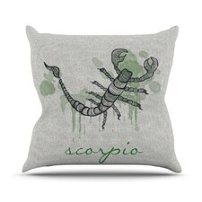 <strong>KESS InHouse</strong> Scorpio Throw Pillow