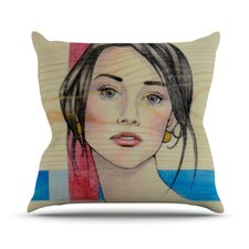 <strong>KESS InHouse</strong> Face Throw Pillow