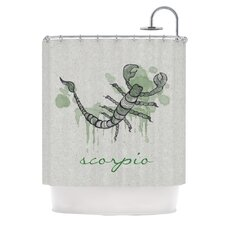 <strong>KESS InHouse</strong> Scorpio Polyester Shower Curtain
