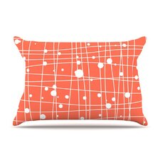Woven Web I Microfiber Fleece Pillow Case