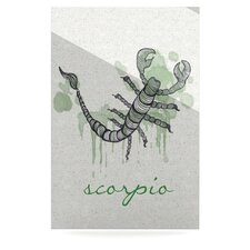 Scorpio by Belinda Gillies Graphic Art Plaque
