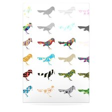 Birds by Belinda Gillies Graphic Art Plaque