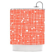 <strong>KESS InHouse</strong> Woven Web I Polyester Shower Curtain