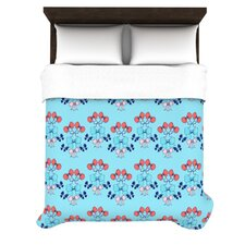 Bows by Anneline Sophia Woven Duvet Cover