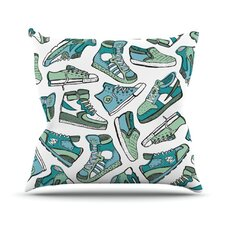 Sneaker Lover III Throw Pillow