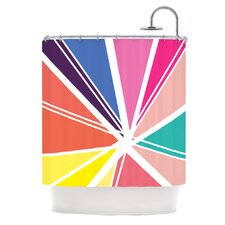 Boldly Bright Polyester Shower Curtain