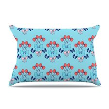 Bows Microfiber Fleece Pillow Case