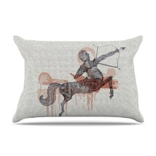 Sagittarius Microfiber Fleece Pillow Case