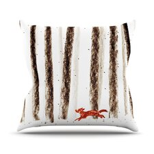 Run and Roam Throw Pillow