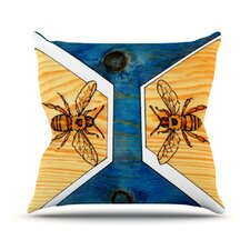 Bees Throw Pillow