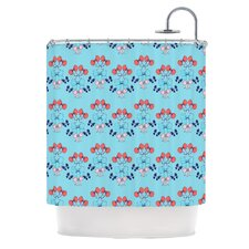 Bows Polyester Shower Curtain