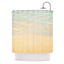 Ombre Water Polyester Shower Curtain