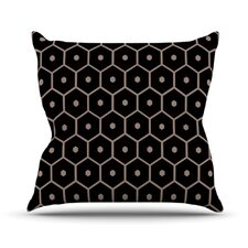 Tiled Mono Throw Pillow