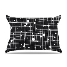 Woven Web Mono Microfiber Fleece Pillow Case
