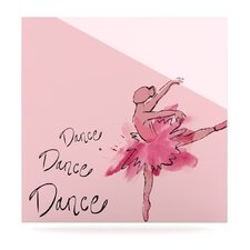 Ballerina Floating Art Panel