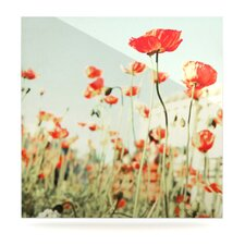 Poppy by Bree Madden Graphic Art Plaque