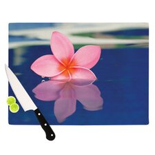 Plumeria Cutting Board
