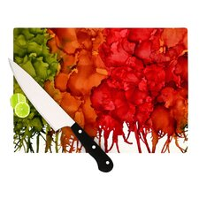 Fall Splatter Cutting Board