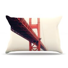 <strong>KESS InHouse</strong> Golden Gate Microfiber Fleece Pillow Case