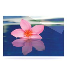Plumeria Floating Art Panel