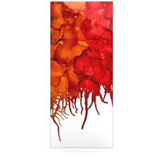 Fall Splatter Floating Art Panel